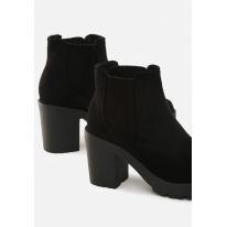 Black Women's high heels 1565-38-black