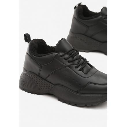 Black Women's shoes Sneakers JB033-38-black