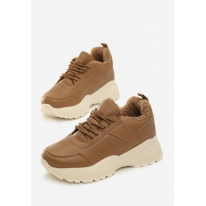 Beige Women's shoes Sneakers JB033-42-beige