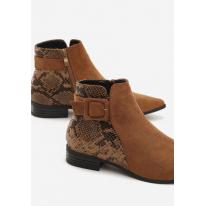 Camel Women's flat boots 7329 7329-68-camel