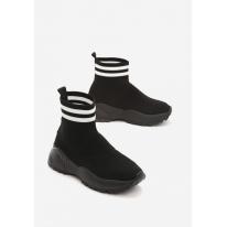 Czarne Obuwie damskie Sneakersy JB037-38-black