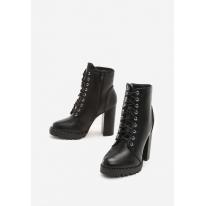 Black women's high heels 7337-38-black