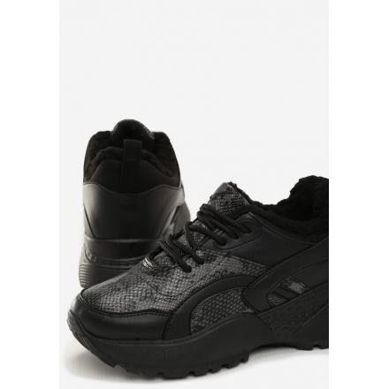Black-Gray Women's Shoes Sneakers JB035-136-black/grey