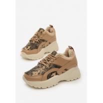Beige Women's shoes Sneakers JB035-42-beige