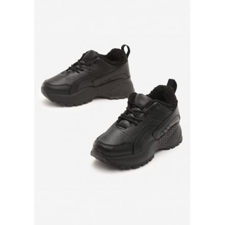 Black Women's shoes Sneakers JB035-38-black