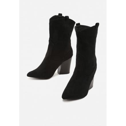 Black Women's high heels 3320-38-black