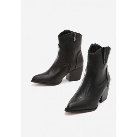 Black Women's high heels 8494-38-black