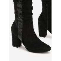 Czarne Kozaki damskie 3314-38-black