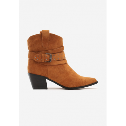Camel cowboy boots for women with high heels 8503-68-camel