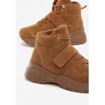 Camelowe Obuwie damskie Sneakersy JB034-68-camel