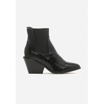 Black Cowboy boots for women 8496-38-black