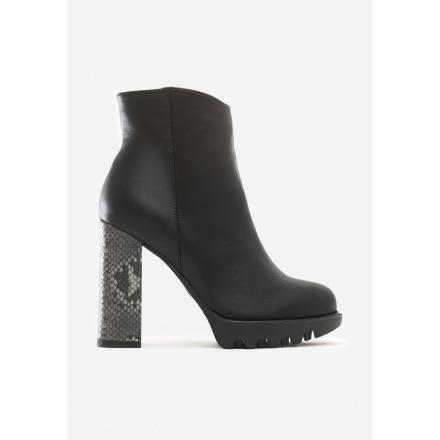 Black Women's high heels 8530-38-black