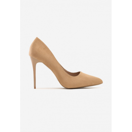 Beige women's high heels 3307-42-beige
