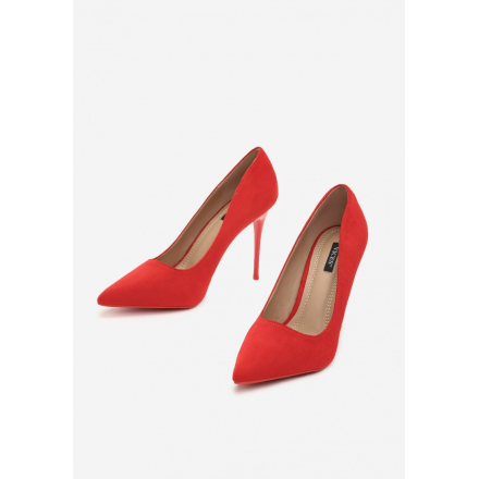 Red women's high heels 3307-64-red