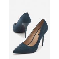 Blue women's high heels 3307-51-blue