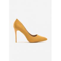 Yellow women's high heels 3307-49-yellow