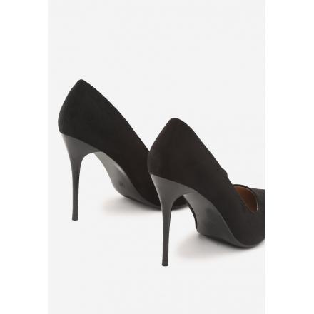 Black women's high heels 3307-38-black