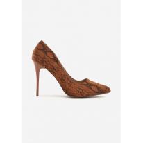 Brown women's high heels 3309-54-brown