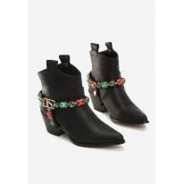 Black high heels 8501-38-black