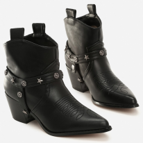 Black high heels 8502-38-black
