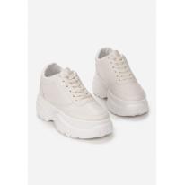 Beżowe Sneakersy 8549-42-beige