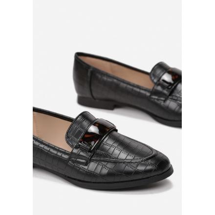 Black loafers 7347-38-black