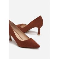 Brown high heels 3338-54-brown