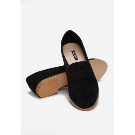 Black loafers 7350-38-black