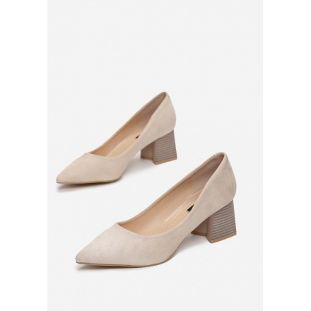 Light beige pumps 3344-43-l.beige