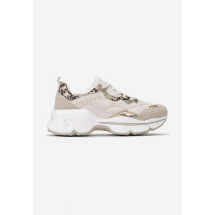 Beige Sneakers 8536-42-beige