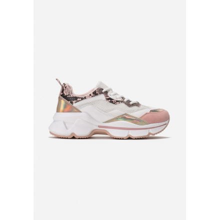 Pink sneakers 8536-45-pink