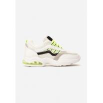 White-Green Women's Sneakers 8546-236-white/green