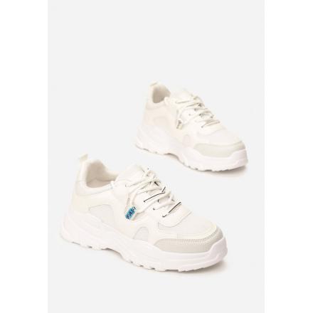 White women's sneakers 8550-71-white
