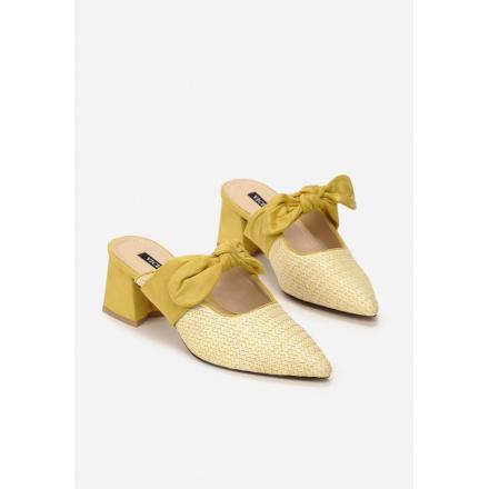 Yellow Women's Slippers 3371-49-yellow