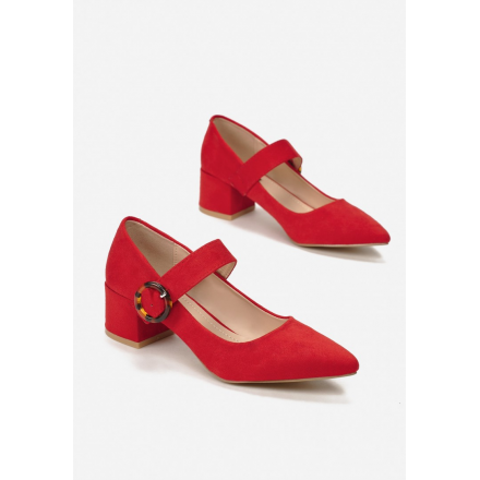Red Women's Pumps 3342- 3342-64-red