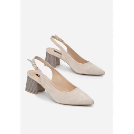 Light Beige Sandals 3374-43-l.beige
