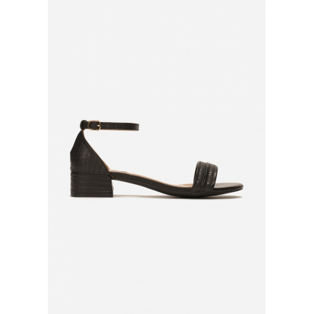 Black women's sandals 3382-38-black