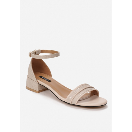 Light beige women's sandals 3382-43-l.beige