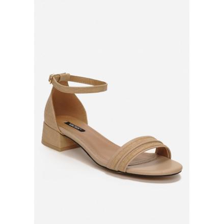 Beige Women's Sandals 3382- 3382-42-beige