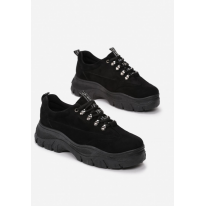 Black Women's Sneaker 8548-38-black