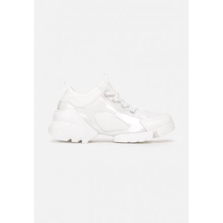 Białe Sneakersy Damskie 8544-71-white