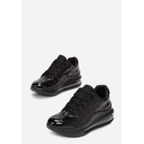 Czarne sneakersy 8545-38-black