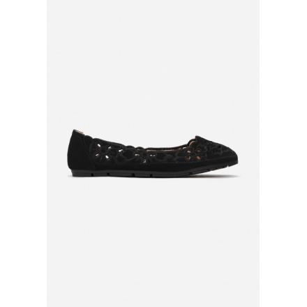 Black ballerinas 3345-38-black
