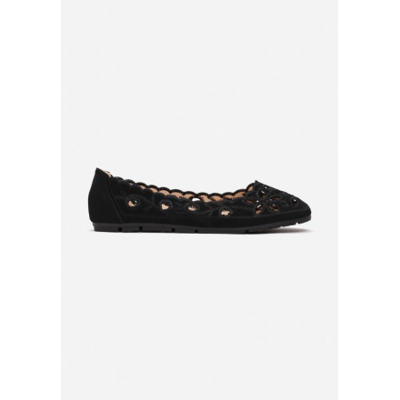 Black ballerinas 3346-38-black