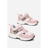 Różowe Sneakersy Damskie 8578-45-pink