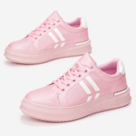 Różowe Sneakersy Damskie 8580-45-pink