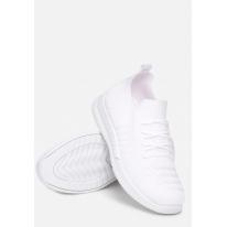 Białe Buty damskie Sportowe 8565- 8565-71-white