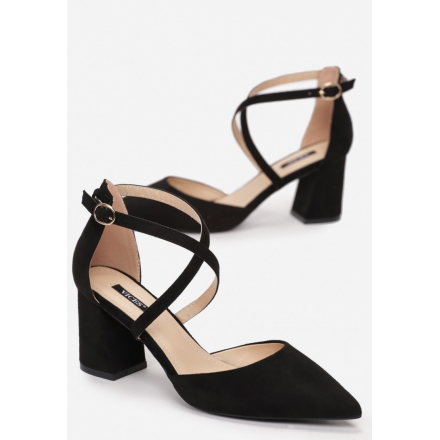 Black women's pumps 1594-38-black