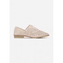 Light beige Openwork women's shoes 3351-43-l.beige