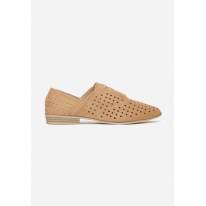 Beige Openwork women's shoes 3351-42-beige